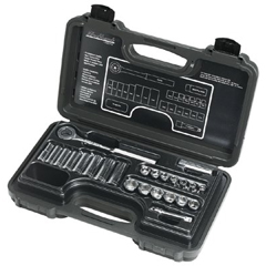 BLH578-3824-MNB - Blackhawk24 Piece Deep & Standard Socket Sets