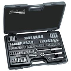 BLH578-9782-B - Blackhawk82 Piece Standard & Metric Socket Sets