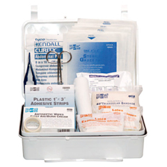 FAO579-6084 - First Aid Only25 Person Industrial First Aid Kits, Weatherproof Plastic, Wall Mount