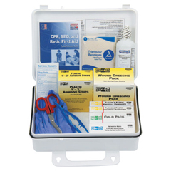 FAO579-6430 - First Aid Only - 25 Person ANSI Plus First Aid Kits, Weatherproof Plastic, Wall Mount