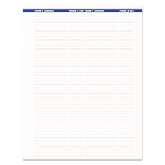 HOD273 - Recycled Earthscapes Weekly/Monthly Planner, 11 x 8 1/2, Black, 2020