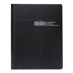 HOD257202 - Recycled Professional Academic Weekly Planner, 11 x 8 1/2, Black, 2019-2020
