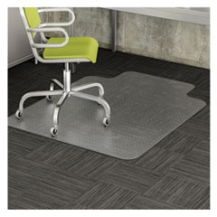 DEFCM11112COM - deflecto® EconoMat® Occasional Use Chair Mat for Commercial Flat Pile Carpeting