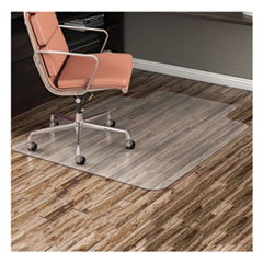 DEFCM21112COM - deflecto® EconoMat® Non-Studded All Day Use Chairmat for Hard Floors