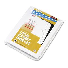 KLF82250 - Kleer-Fax® 80000 Series Numerical Side Tab Legal Index Divider