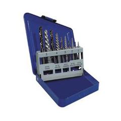 IRW585-11119 - IrwinSpiral Flute Extractors and Cobalt Drill Bit Sets