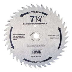IRW585-11840 - IrwinIrwin Steel Circular Saw Blades