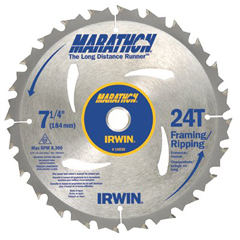 IRW585-14028 - IrwinMarathon Portable Corded Circular Saw Blades