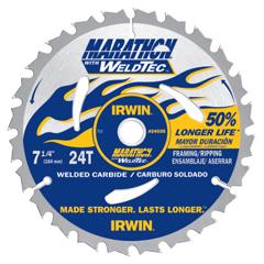 IRW585-24035 - IrwinWeldtec Circular Saw Blades, 24 Teeth