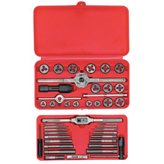 IRW585-24606 - IrwinMachine Screwith Fractional Tap & Die Super Sets
