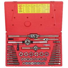 IRW585-24640 - IrwinMachine Screwith Fractional Tap & Die Super Sets