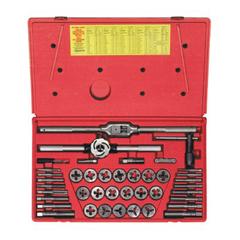IRW585-25941 - IrwinHigh Carbon Steel 41-Piece Tap & Adjustable/Solid Round Die Super Sets