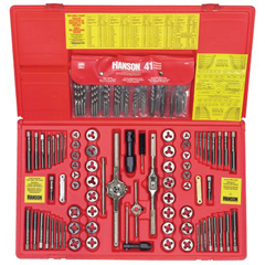 IRW585-26377 - Irwin117-Piece Fractional/Metric Tap, Die and Drill Bit Deluxe Set