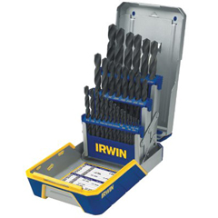 IRW585-3018004 - IrwinHeavy-Duty HSS Drill Bit Sets