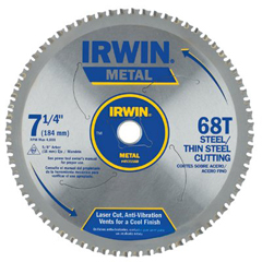 IRW585-4935560 - IrwinMetal Cutting Circular Saw Blades