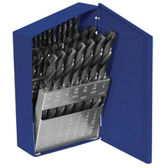 IRW585-80183 - Irwin801 Series HSS Jobbers Length Drill Bit Sets