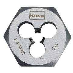 IRW585-6520 - IrwinHigh Carbon Steel Fractional Hexagon Dies
