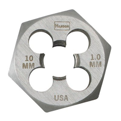 IRW585-9722 - IrwinHigh Carbon Steel Metric Hexagon Dies