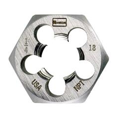 IRW585-7004 - IrwinHigh Carbon Steel Hexagon Taper Pipe Dies