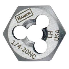 IRW585-7720 - IrwinHigh Carbon Steel Re-Threading Fractional Hexagon Dies