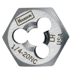IRW585-7752 - IrwinHigh Carbon Steel Re-Threading Fractional Hexagon Dies