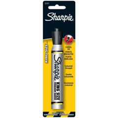 SAN652-15101PP - SanfordKing Size Permanent Markers, Black, Chisel