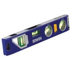 IRW586-1794153 - Irwin - 250 Series Magnetic Torpedo Levels, 9 In, 4 Vials