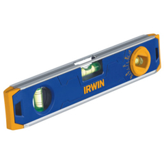 IRW586-1794155 - Irwin150 Series Magnetic Torpedo Levels, 9 In, 3 Vials