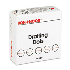 KOH25900J01 - Koh-I-Noor Adhesive Drafting Dots