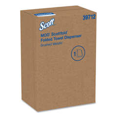 KCC39712 - Kimberly-Clark Professional Mod Scottfold Towel Dispenser