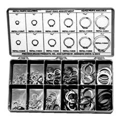 PRB605-12900 - Precision BrandSnap Ring Assortments