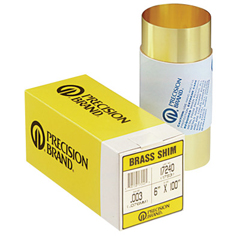 PRB605-17195 - Precision BrandBrass Shim Stock Rolls