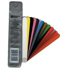 PRB605-78905 - Precision BrandFan Blade Plastic Thickness Gage Assortments