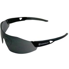 SMW138-23453 - Smith & Wesson44 Magnum Eyewear, Smoke Polycarbonate Anti-Scratch Anti-Fog Lenses, Black Frame