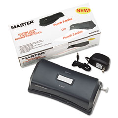 MATEP323 - Master® EP323 Electric/Battery-Operated Duo Punch