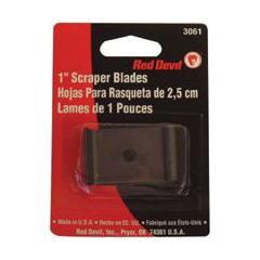 RED630-3061 - Red DevilSingle Edge Scraper Blades