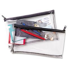 MMF234041720 - MMF Industries™ Clear Vinyl Zippered Wallet