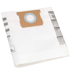 ORS677-906-61 - Shop-VacDisposable Collection Filter Bags, For 5 - 10 Gal. Vacs (Side Inlets Only), 3/Pk