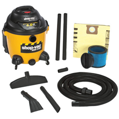 ORS677-962-50-10 - Shop-VacThe Right Stuff Series Industrial Wet/Dry Vacuums, 10 Gal, 4 HP
