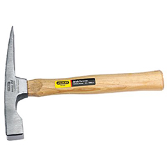 STA680-54-435 - Stanley-BostitchBricklayer's Wood Handle Hammers