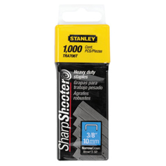BOS680-TRA706T - Stanley-Bostitch3/8 Heavy Duty Staples; 3/8 Heavy Duty Staples (Box Of 1000)