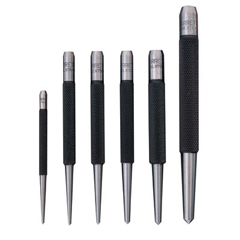 LSS681-50487 - L.S. StarrettCenter Punches with Round Shank