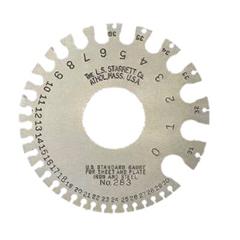 LSS681-51318 - L.S. StarrettNos. 0-36 U.S. Standard Gages