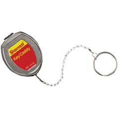 LSS681-63135 - L.S. StarrettKey Caddy, Silver, Stainless Steel Chain & Key Ring