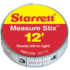 LSS681-63170 - L.S. StarrettMeasure Stix™ Steel Measuring Tapes - Reads Left To Right