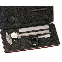 LSS681-65122 - L.S. Starrett - Dial Caliper & Micrometer Sets
