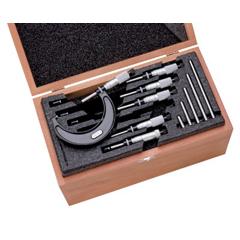 LSS681-68045 - L.S. StarrettS436.1 Series Micrometer Sets