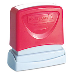 NSN2074108 - AbilityOne™ Pre-Inked Message Stamp