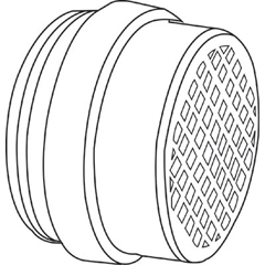 SPR695-105310 - HoneywellS-Series, Organic Vapors/ Acid Gases/ P100 Combo Cartridge Filter