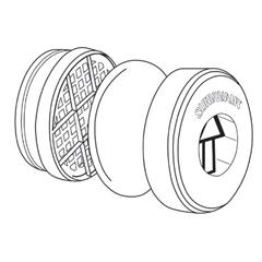 SPR695-106010 - HoneywellS-Series, N95 Filter Pad